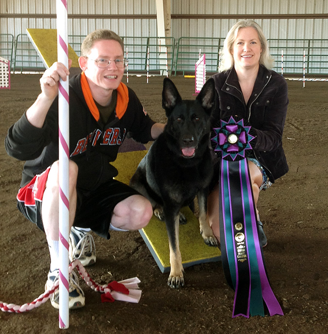 Vom Banach K9 Agililty and Competitive Obedience-Award