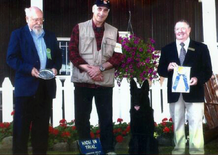 Vom Banach K9 Agililty and Competitive Obedience-Prize Winner